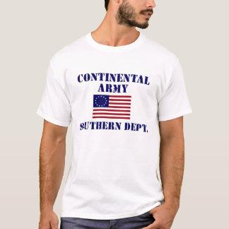 Revolutionärer Kriegs-kontinentaler Armee-T - T-Shirt