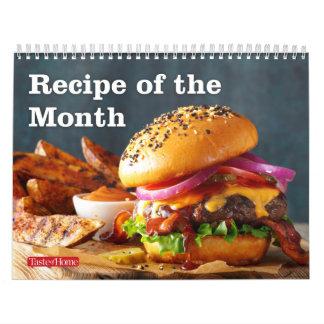 Rezept des Monats Abreißkalender