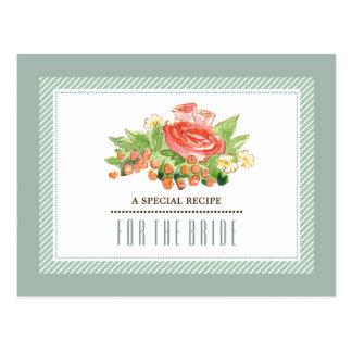 Rezept für Brautparty-kundenspezifische Karten
