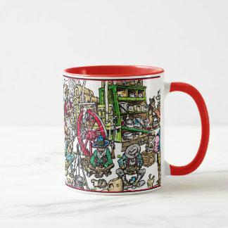 Rezept für Cowboy-Kaffee Tasse