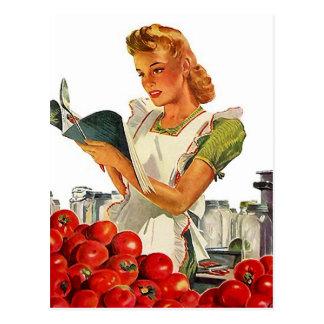 Rezept-Karten-Postkarten-Entwurf, zum von Fav Postkarte