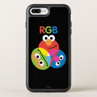 Rgb-Sesame Street OtterBox Symmetry iPhone 7 Plus Hülle
