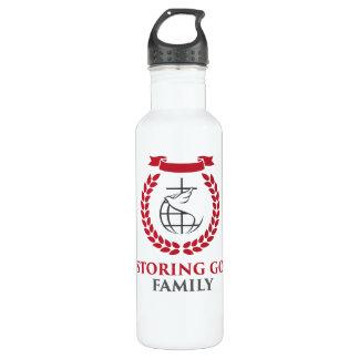 RGF 24oz weiße Stahlwasser-Flasche Trinkflasche