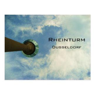 Rheinturm Dusseldorf Postkarte