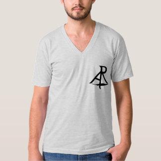 Rhetorik-das Shirt schiefwinkliger Logo-Jersey