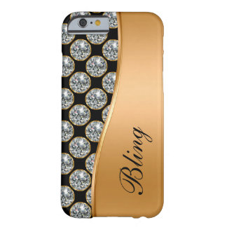 Rhinestone-Juwel Bling Fall Barely There iPhone 6 Hülle