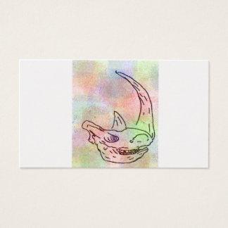 Rhino-Wasserfarberegenbogen Visitenkarte
