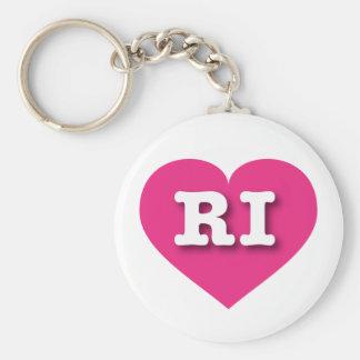 Rhode Island Herz heißen Rosas - große Liebe Schlüsselanhänger
