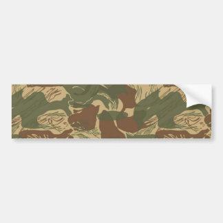 Rhodesian Camouflage Autoaufkleber