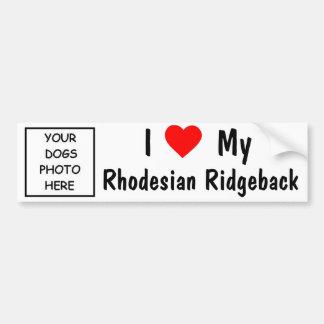 Rhodesian Ridgeback Autocollant De Voiture