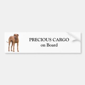 Rhodesian Ridgeback Hundegewohnheitsaufkleber Autoaufkleber