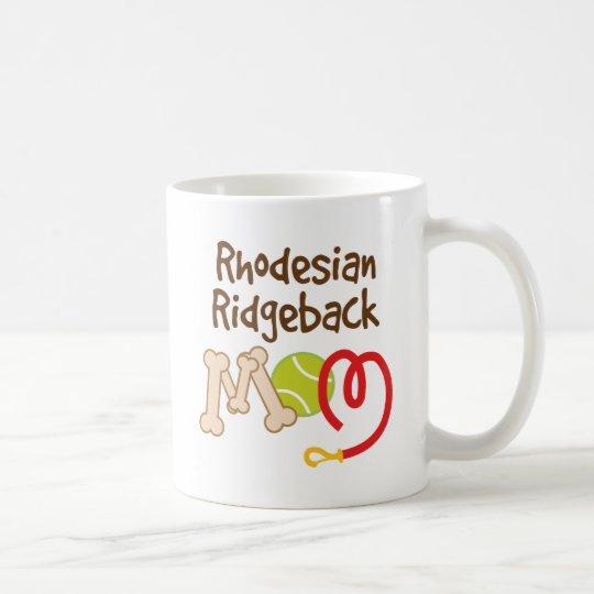 Rhodesian Ridgeback Hundezucht-Mamma-Geschenk Kaffeetasse