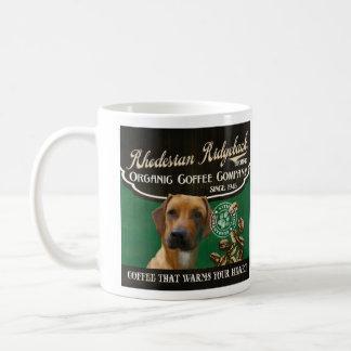 Rhodesian Ridgeback Marke - Organic Coffee Company Tasse