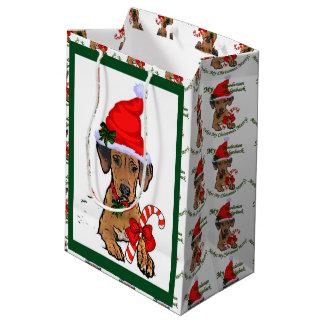 Rhodesian Ridgeback Weihnachten Mittlere Geschenktüte