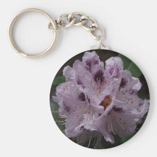 Rhododendron-Blumen-Schlüsselring Schlüsselanhänger