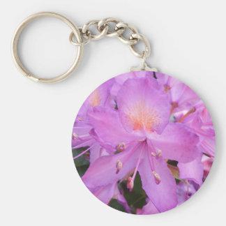 Rhododendron-Blumen-Schlüsselring Standard Runder Schlüsselanhänger