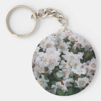 Rhododendron Standard Runder Schlüsselanhänger