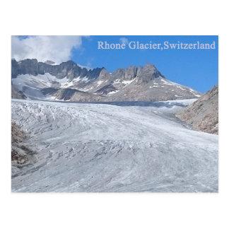 Rhône-Gletscher, die Schweiz-Postkarte Postkarte