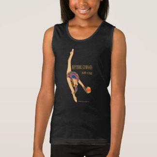 Rhythmische Gymnasts haben ein Tank Top