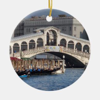 Rialto Brücke Venedig Italien Keramik Ornament