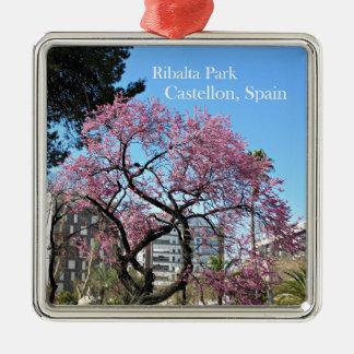 Ribalta Park, Spanien Silbernes Ornament