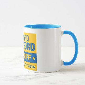 Richard Lankford für Sheriff-offizielle Tasse