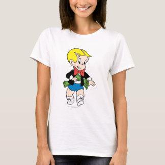 Richie reiche Taschen voll Geld - Farbe T-Shirt