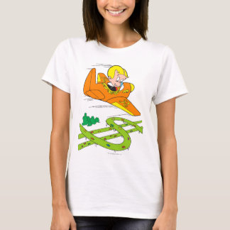 Richie reiches Fliegen-Flugzeug - Farbe T-Shirt