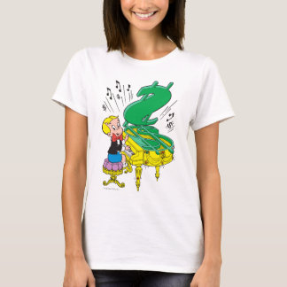 Richie reiches spielendes Klavier - Farbe T-Shirt