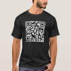 Rick-Rollen-QR CODE Rickrolled T-Shirt