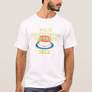 Rick santorum Tee-Party 2012 T-Shirt