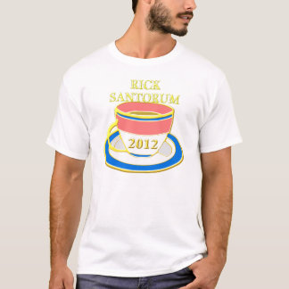 Rick santorum Tee-Party 2012 T-Shirt