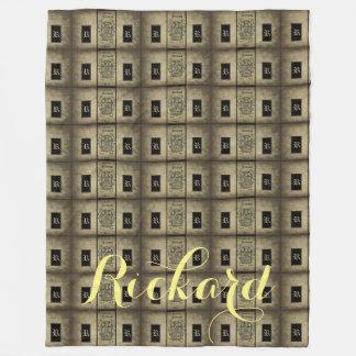 Rickard Wappen Fleecedecke