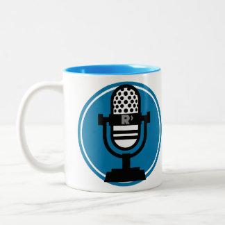 Ricochet-Podcasting Tasse