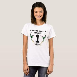 Riddim wurzelt Radio einer Arda Damen-T - Shirt
