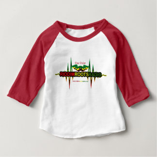 Riddim wurzelt Radiohülseraglan-T - Shirt des