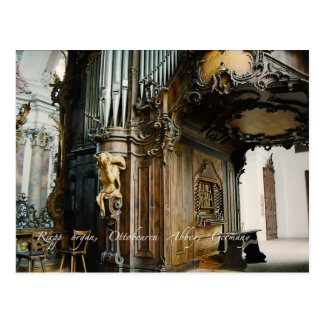 Riepp Organ in Ottobeuren Postkarte