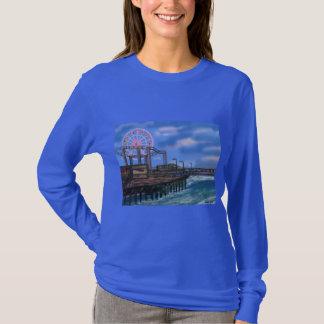 Riesenrad an der Promenade T-Shirt