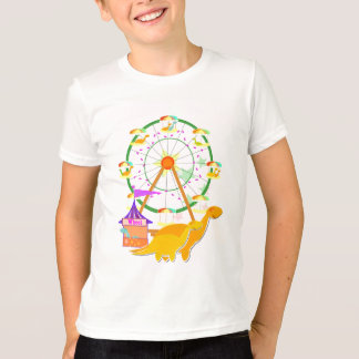 Riesenrad-Dinosaurier-T - Shirt