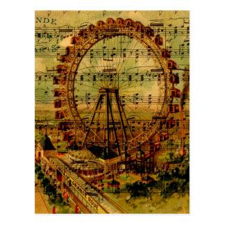 Riesenrad Paris Postkarte