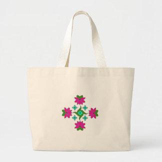 Riesige Tasche-Blume Series#80 Jumbo Stoffbeutel