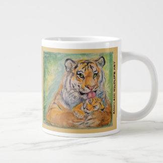 riesige Tasse des Tiger-20oz