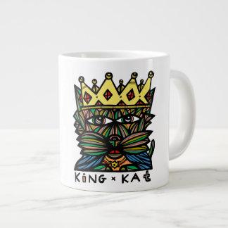 """Riesige Tasse """"König-Kat"""""""