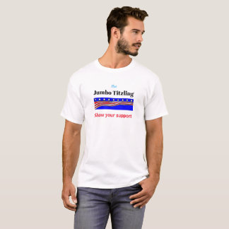 Riesige Titzling Show Ihr Stützt-shirt