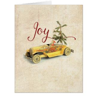 Riesige Weihnachtsaltertums-Weihnachtskarte Karte