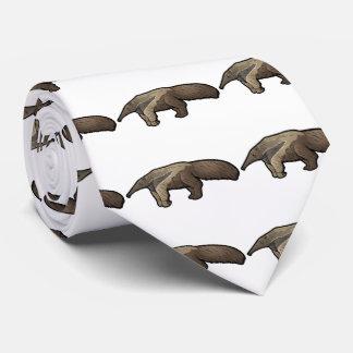 Riesiger Anteater Bedruckte Krawatten