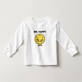 Riesiger Smiley Herr-Happy   Kleinkinder T-shirt