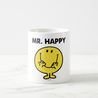 Riesiger Smiley Herr-Happy | Tasse