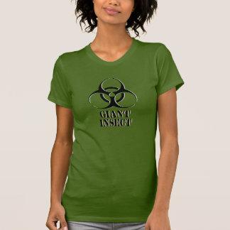 Riesiges Insekten-Shirt mit Biogefährdungsymbol T-Shirt