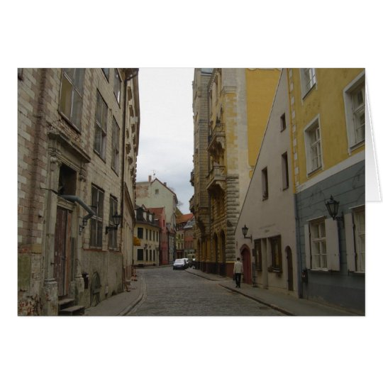Riga Lettland Grußkarte